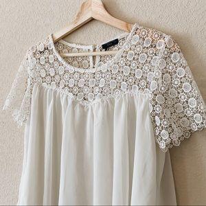dex ivory blouse